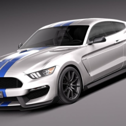 FORD GT350.PNG Download free STL file FORD GT350 1:28 MINI-Z • 3D printer template, tecnostudio3d