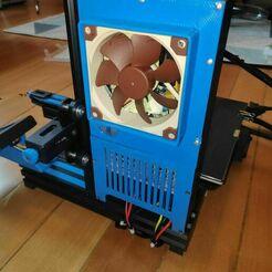 IMG_20210104_124713_1.jpg Télécharger fichier STL Ender 3 V2 Soutien à l'alimentation électrique • Design pour imprimante 3D, vonderwald