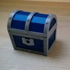 miniatureTG.jpg Télécharger fichier STL gratuit Boîte de poitrine en forme de zelda avec charnière multicolore • Plan pour impression 3D, GedeonLab