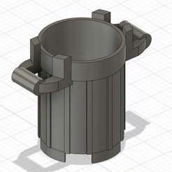 one_file.jpg Télécharger fichier STL gratuit Petite poubelle (ressemblant à un Lego) • Modèle pour imprimante 3D, GedeonLab