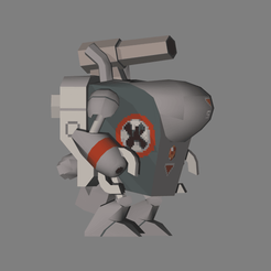 61.png Télécharger fichier STL Limace en métal - Slug Armor - OBJ • Plan pour imprimante 3D, TonGilli