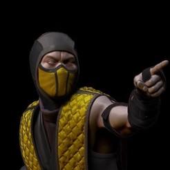 Main.jpg Télécharger fichier STL Scorpion Fan Art Mortal Kombat 11 modèle d'impression 3D • Objet à imprimer en 3D, 1m4too