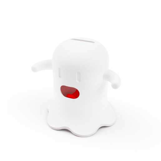 PB-00 closed.png Download STL file Spooky Money Jar • Template to 3D print, Timtim
