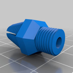 Bowden_coupler_RHT.png Download free STL file Anycubic i3 Mega S Bowden coupler M10 x 1.0 • 3D printable template, benspawn