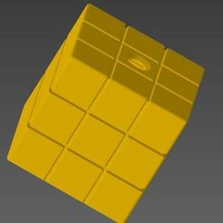 Výstřižek.JPG Télécharger fichier STL Cendrier - chauffage du tabac RubicCube • Plan à imprimer en 3D, Ondra