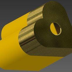 Výstřižek.JPG Download STL file Ashtray - heating tobacco Heart • 3D printing template, Ondra