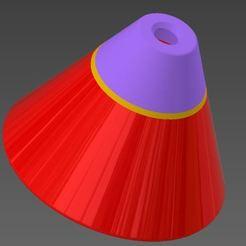 Výstřižek.JPG Download STL file Ashtray - heating tobacco Cone • 3D printer model, Ondra