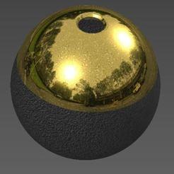 Výstřižek.JPG Download STL file Ashtray - heating tobacco Sphere • 3D printing design, Ondra