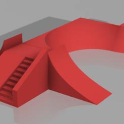 skate_ramp.png Download STL file Fingerboard skate ramp • 3D print object, mystriks