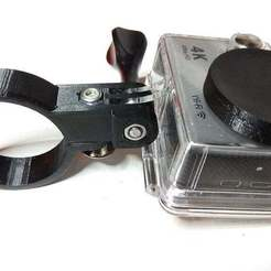 IMG_20180521_205640.jpg Télécharger fichier STL gratuit Glissière du cadre de la moto, montage gopro (rutan) • Modèle à imprimer en 3D, parek