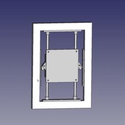 monitor_holder_preview.png Download free STL file Built-in adjustable TV/Monitor holder. Vesa (10x10) • 3D printer design, parek