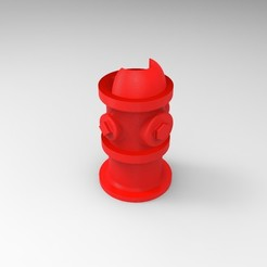 Renders Clipper.180.jpg Télécharger fichier STL Bouche à incendie Clipper Lighter Case • Modèle imprimable en 3D, JoakoZarza