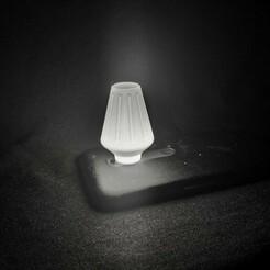 IMG-9523.JPG Download STL file Mini Phone Lamp - Vase Mode • 3D print template, JoakoZarza