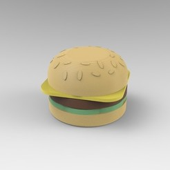 Black Mambo.149.jpg Download STL file Burger Grinder • 3D printing model, JoakoZarza