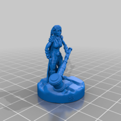 DwarfBlacksmithBHG.png Download free STL file Dwarf Blacksmith 28mm Support Free • Design to 3D print, BelvedereHouseGames