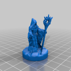 DarkWizardOptionSix.png Download free STL file Dark Wizard 28mm Support Free • Template to 3D print, BelvedereHouseGames