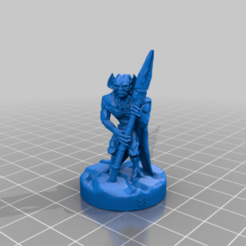 FeralRatfolkHunterBHG.png Download free STL file Feral Ratfolk Hunter • 3D printing design, BelvedereHouseGames