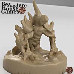 SkeletonWarHoundBHGs.jpg Télécharger fichier STL gratuit Skeleton WarHound 28mm Mini - Sans support • Objet pour imprimante 3D, BelvedereHouseGames