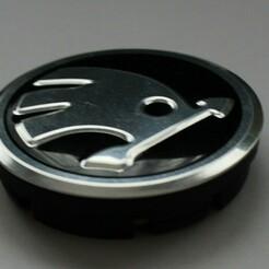 IMG_7535.JPG Download STL file Wheel center cap Skoda  • 3D printer object, Besir