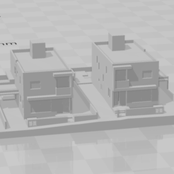 Resi.png Download STL file House / Residential / Building / Architecture / Design • 3D printing design, andreasf