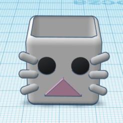 rabbit.png Télécharger fichier STL pot de lapin • Modèle pour impression 3D, jaszko