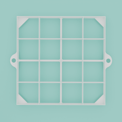 Oznacovac-rezu-stvorcovy-003.png Download STL file Square slice marker, 16 sections • 3D printing model, Cookiecutters