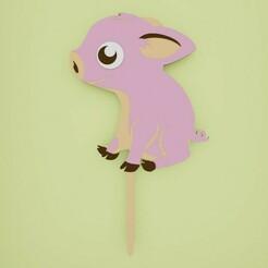 Zapich-roztomile-prasiatko.jpg Télécharger fichier STL Petit gâteau de porc • Objet imprimable en 3D, Cookiecutters