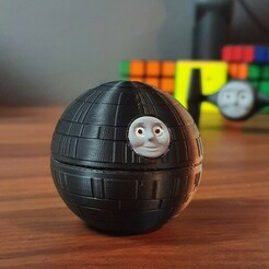 20210115_154523.jpg Download STL file Thomas The Death Star • 3D printer model, MarkVLG