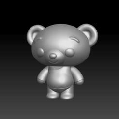 Oso.png Télécharger fichier STL Bam - L'ami de Plim Plim • Design pour impression 3D, Abadis3D