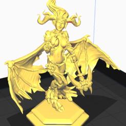 Captura.PNG Télécharger fichier STL Démon • Plan imprimable en 3D, Futa_Fan