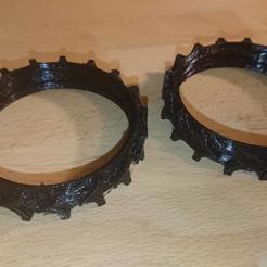 DSC_5551.jpg Download STL file Irobot Romaba 981 Tractor wheels • 3D print template, webzone