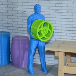container_scale-1-10-worker-pose-3d-printing-191816.jpg Download STL file Scale 1/10 worker pose • 3D printing model, Gekon3D