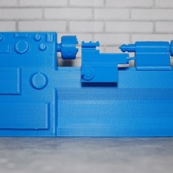 container_scale-1-10-lathe-3d-printing-176780.jpg Download STL file Scale 1/10 lathe • 3D printer template, Gekon3D
