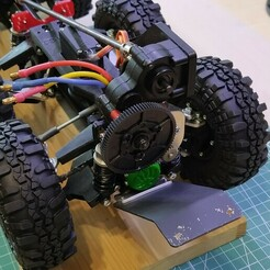 IMG_20200623_164045.jpg Download STL file RC truck chassis 8x8 1/12 Tatra concept • 3D printing design, Gekon3D