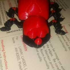 Download free STL file FLEXI BEETLE • 3D printer model, angelllanos
