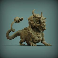 asian-dragon-3d-model-stl (1).jpg Download STL file DRAGON ASIAN 3D • 3D print template, mustisoft