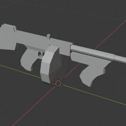 TOMMY GUN 2.jpg Télécharger fichier STL TOMMY GUN • Modèle pour impression 3D, STRIKER