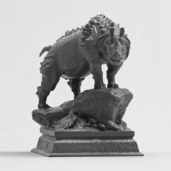 Elrhinox 9.png Download free OBJ file Elrhino • 3D printer model, mariusciulei