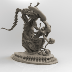 untitled.690.png Download OBJ file Aliens • Model to 3D print, mariusciulei