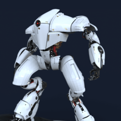 Robot.661.png Download OBJ file Droid SR1 • Model to 3D print, mariusciulei