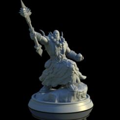 untitled.635.png Télécharger fichier OBJ Horloge de guerre orc • Design à imprimer en 3D, mariusciulei