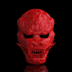 untitled.568.png Download OBJ file Dragon mask - omsx • 3D printing design, mariusciulei