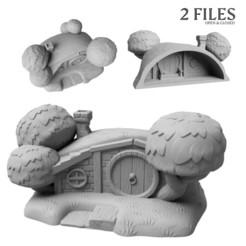 start.jpg Télécharger fichier STL Hobbithouse pour les jeux de table • Modèle à imprimer en 3D, FlorianAzar
