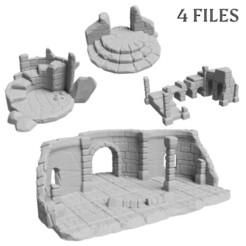 ruin_thumb.jpg Télécharger fichier STL Ensemble de ruines - 4 fichiers • Plan pour impression 3D, FlorianAzar