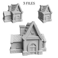 minihouse_thumb.jpg Télécharger fichier STL Pack maison - 2 Dossiers • Modèle pour imprimante 3D, FlorianAzar