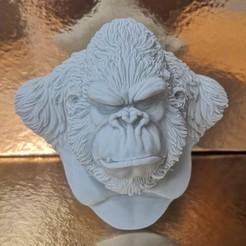 Kongk006.jpg Download STL file Kong • Object to 3D print, monstersbarcelona