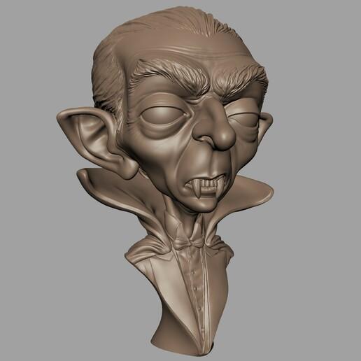 Renders001.jpg Download STL file Dracula • 3D print model, monstersbarcelona