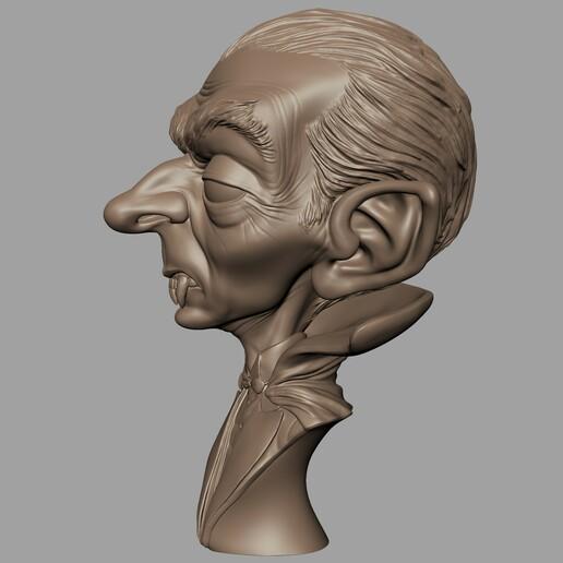 Renders003.jpg Download STL file Dracula • 3D print model, monstersbarcelona