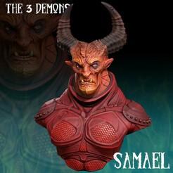 Samael_FICHA copy.jpg Download STL file Samael Demon • 3D printer design, monstersbarcelona