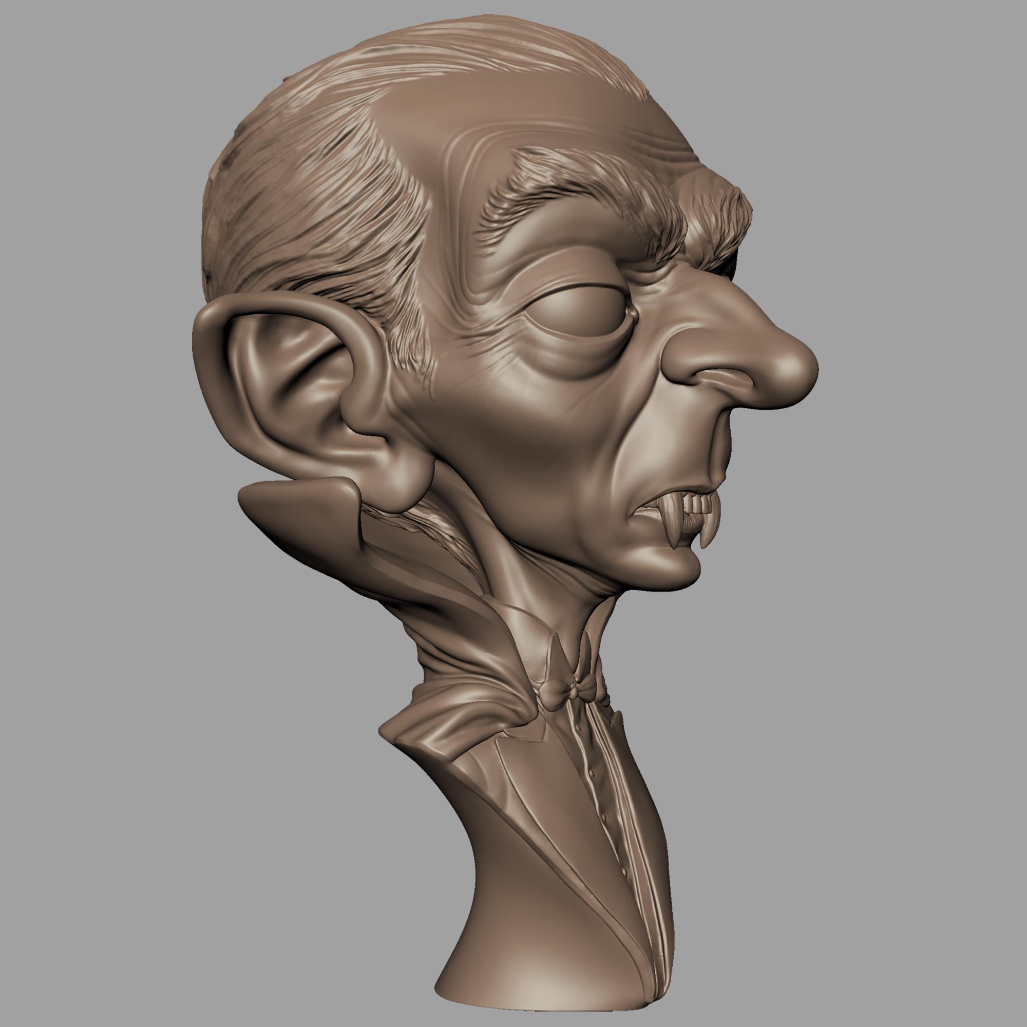 Renders002.jpg Download STL file Dracula • 3D print model, monstersbarcelona